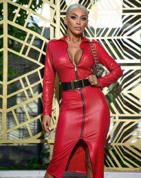 Фустан - код 0547 - 2 - црвена
