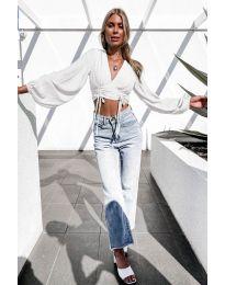 Блуза - код 864 - бело