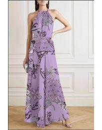 Фустан - код 2268 - виолетова