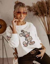 Блуза - код 2959 - бела