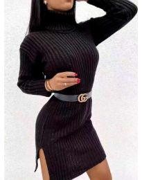 Фустан - код 6867 - црна