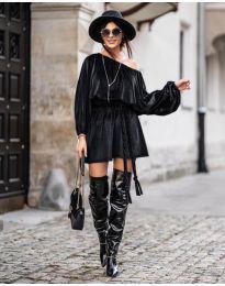 Фустан - код 324 - црна