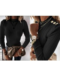 Блуза - код 9930 - црна