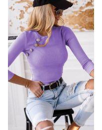Блуза - код 3151 - 1 - виолетова