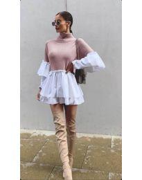 Фустан - код 1188 - розова