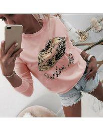 Блуза - код 975 - розова