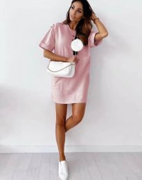 Фустан - код 2231 - розова