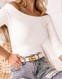 Блуза - код 2805 - бело