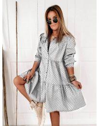 Фустан - код 5557 - бела