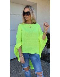 Блуза - код 937 - неон зелена