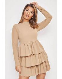 Фустан - код 966 - кремова