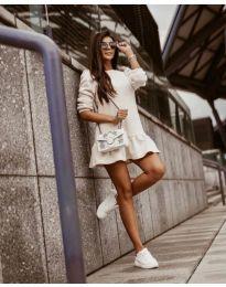 Блуза - код 11512 - бело