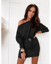 Фустан - код 4442 - црна