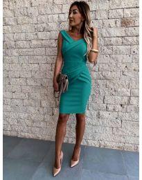 Фустан - код 1104 - зелена