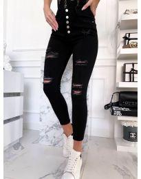 Фармерки - код 4276 - 1 - црна
