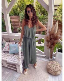 Фустан - код 635 - путер зелена
