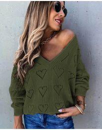 Блуза - код 137 - путер зелена