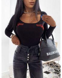 Блуза - код 4160 - црна