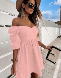 Фустан - код 7413 - розова