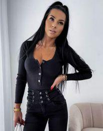 Блуза - код 11698 - црна