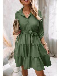 Фустан - код 6970 - зелена