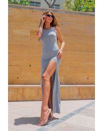 Фустан - код 11966 - сиво