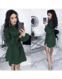 Фустан - код 6364 - путер зелена