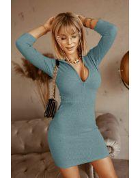 Фустан - код 3107 - тиркизна