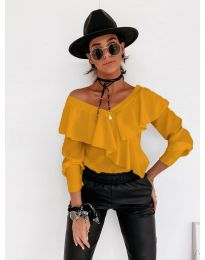 Блуза - код 6030 - окер