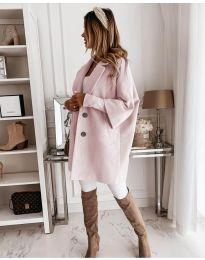 Палто - код 916 - розова