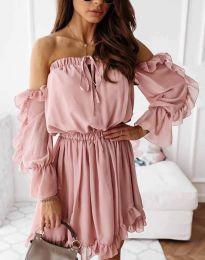 Фустан - код 0223 - пудра