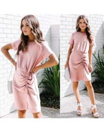 Фустан - код 835 - розова