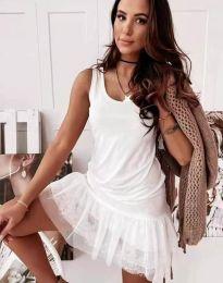 Фустан - код 2994 - бело