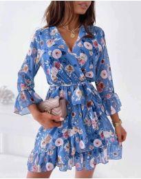 Фустан - код 2865 - цветна