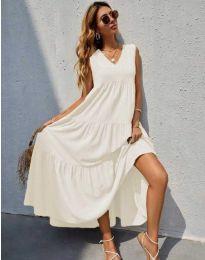 Фустан - код 8149 - бела