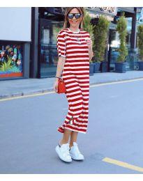Фустан - код 9910 - црвена