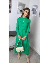 Фустан - код 185 - зелена