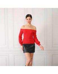Блуза - код 0247 - црвена