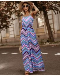 Фустан - код 9852 - шарена