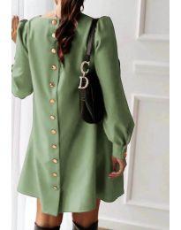 Фустан - код 915 - путер зелена