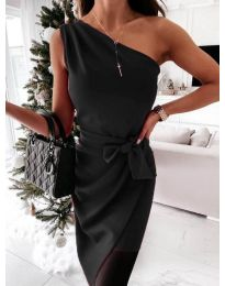 Фустан - код 6442 - 2 - црна