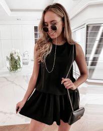 Фустан - код 6612 - 1 - црна