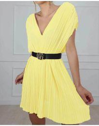 Фустан - код 5670 - жолта