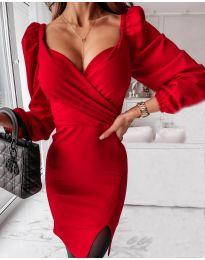 Фустан - код 2595 - црвена
