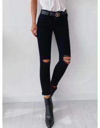 Панталони - код 5159 - црна