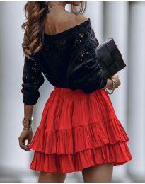 Сукња - код 4122 - црвена