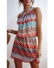 Фустан - код 3317 - портокалова