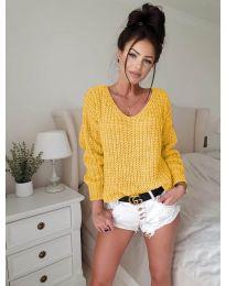 Блуза - код 8768 - окер
