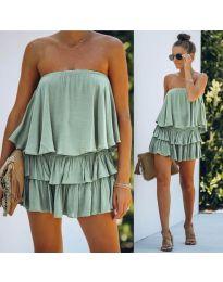Фустан - код 0489 - зелена
