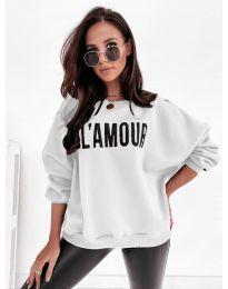 Блуза - код 2869 - бело